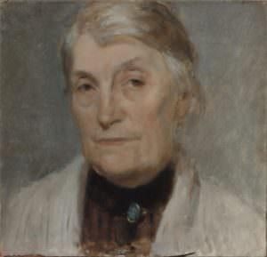 ritratto della madre Alceste Pasti