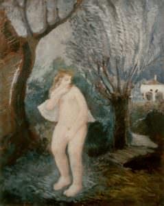 Bozzetto Donne nel bosco