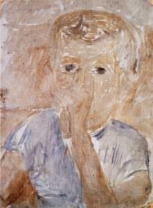 Ritratto di Eugenio bambino