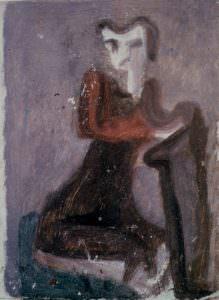 Bozzetto di figura femminile