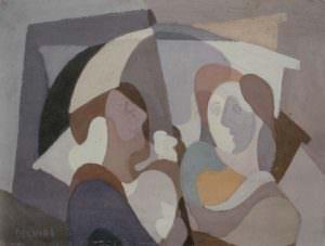 Le donne sotto l'ombrello
