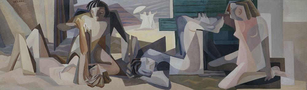 Donne distese sulla spiaggia