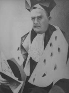 Ritratto dell ing. Carlo Minelli (rettore dell'Università Iuav di Venezia)