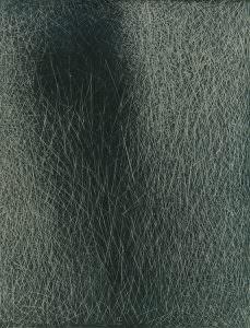 grattage grigio verde