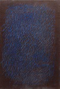 grattage azzurro blu G.A. 0002