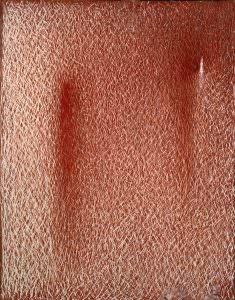 grattage rosso bozzetto