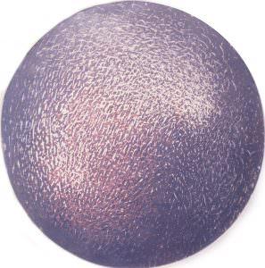 grattage circolare viola e indaco