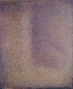 grattage viola marrone