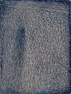 grattage su fondo grigio